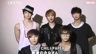{ABMSUBS} 110802 [INTERVIEW] MBLAQ for ODINA Magazine