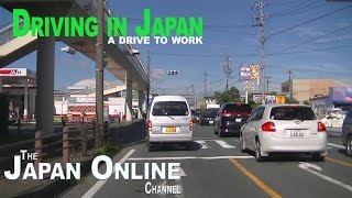 Driving in Japan - A drive to work