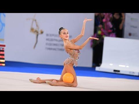 Maria Borisova - Ball 19.10  AA Junior Nationals 2020