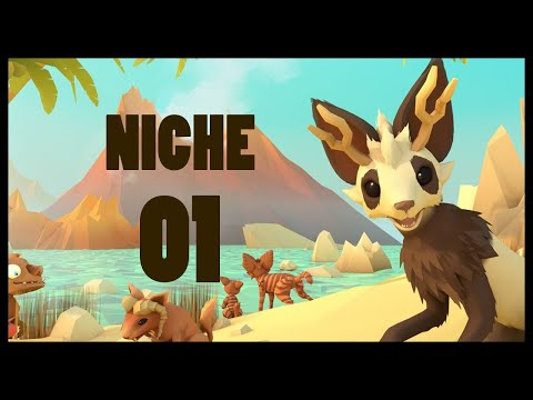 Niche - A Genetics Survival Game Gameplay Let's Play Part 1 (OVERGROWN JUNGLE)
