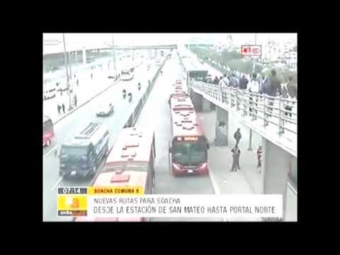 Nuevas Rutas De Transmilenio Para Soacha City Youtube