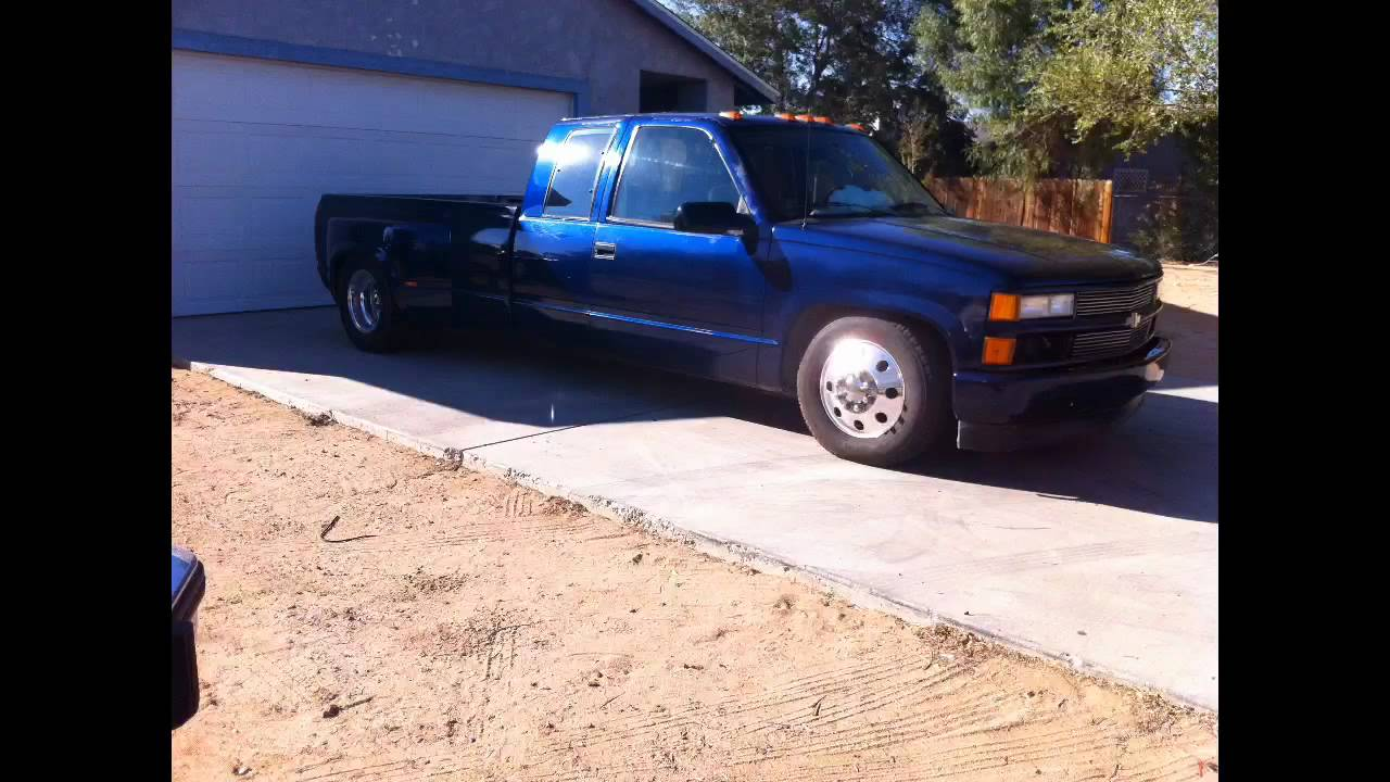 All Chevy 2005 chevy dually bed for sale : Lowered 93 dually work in progress - YouTube