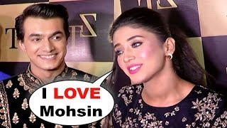 Mohsin Khan And Shivangi Joshi REACTION On Their Dating Rumours