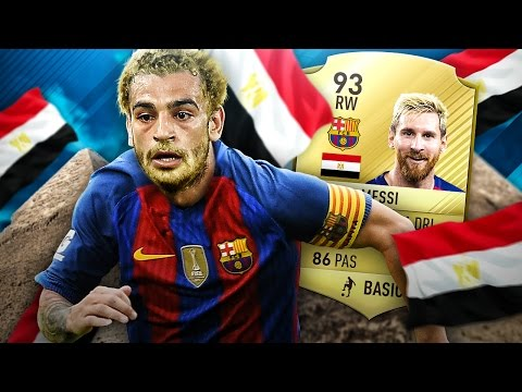 SALAH THE GREAT THE INCREDIBLE EGYPTIAN MESSI! FIFA 17 ULTIMATE TEAM