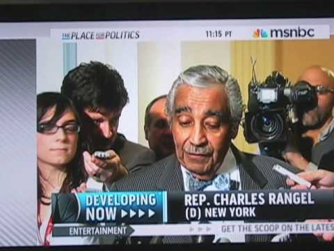 Charlie Rangel Loves the Democrat Party More Than His Country!