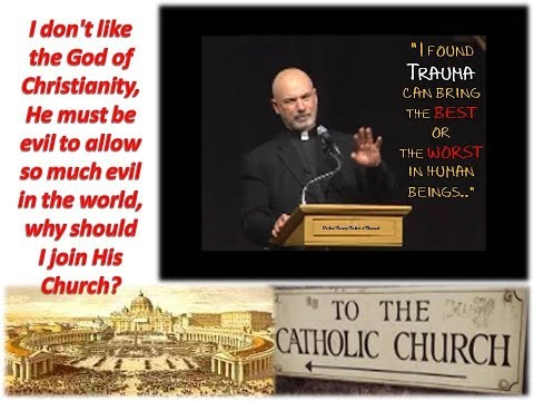 Q. I don't like the God of Christianity, He must be evil to allow so much evil in the world.