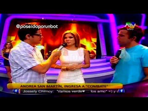 COMBATE: Andrea San Martin es la Nueva...