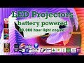 ICE Projectors - Amazing 20,000 hours light engine projector with battery for long life!