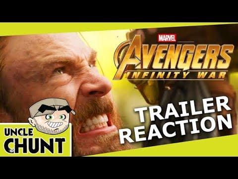 Avengers Infinity War Official Trailer #2 - Chunt Reaction