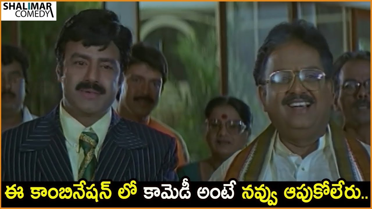 Balakrishna  Hilarious Comedy Scene || Funny Comedy Scenes || Shalimar Comdey