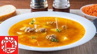 Суп на каждый день: Понравится Всем! Суп из чечевицы с фрикадельками