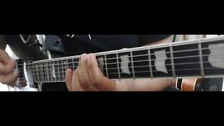 "Marios Iliopoulos ""Embrace The Nightrage"" Guitar playthrough"
