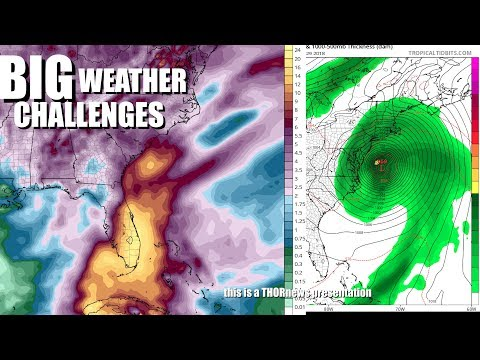 1st TS/Hurricane in 48 Hours for Florida & Gulf & a 72 Hour weird weather watch alert!