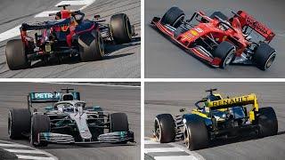 F1 Sound 2019: Best of Honda, Ferrari, Mercedes and Renault