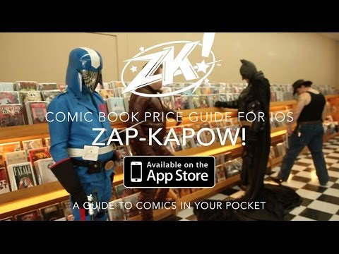 Zap Kapow! Comic Book Price Guide For iOS