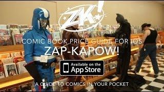 Zap Kapow! Comic Book Price Guide For iOS