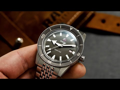 An Awesome Dive Watch That Should Be On Your Radar - Rado Captain Cook Review (37mm & 42mm)