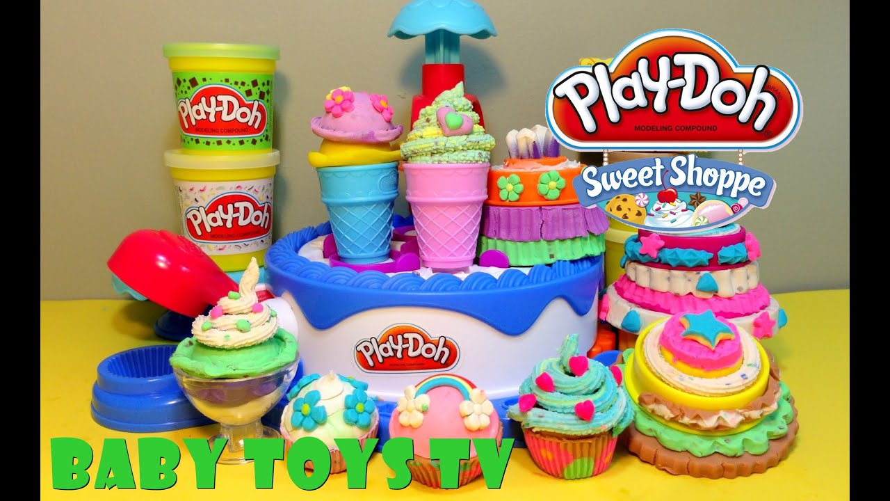 play doh all cake ice cream shop candy playsets minion dora the