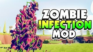 ZOMBIE INFECTION SPREADS! TABS ZOMBIE MOD - TABS (Totally Accurate Battle Simulator)