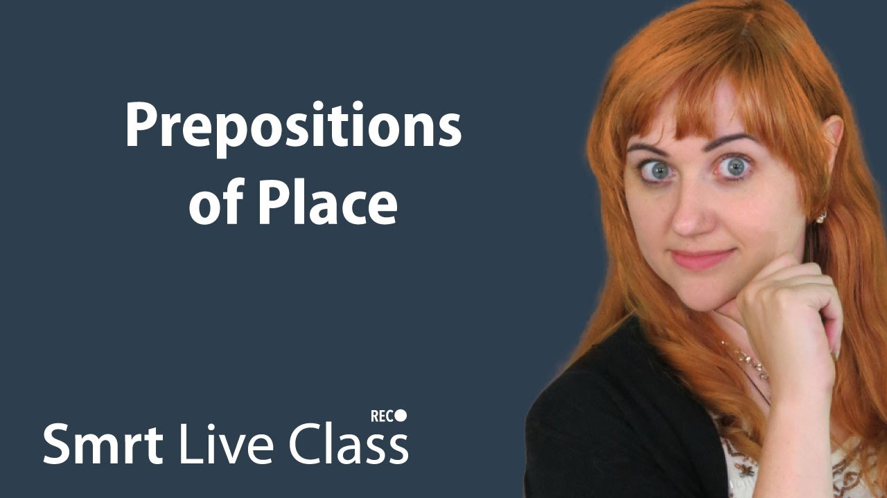 Prepositions of Place: Pre-Intemediate English with Nicole #27