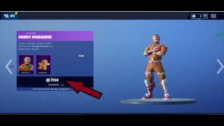 How to get Ginger Bread Man for FREE in Fortnite Battle Royale!