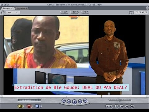 comedie:Ble Goude arrete , Deal ou extradition?