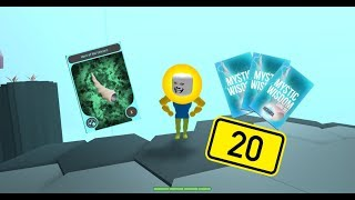 Roblox-Hexaria Mystic Wisdom Cards(x22)Open Horn of the Unicorn!