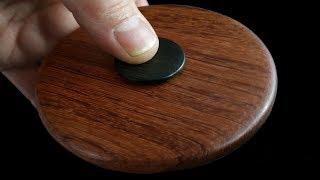 Woodturning with Tim Yoder-Fidget Spinner Part 1