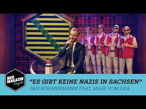 Es gibt keine Nazis in Sachsen - Jan Böhmermann & Maik vom LKA   NEO MAGAZIN ROYALE ZDFneo