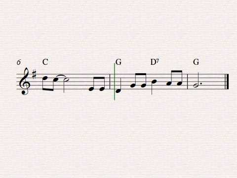 Free easy violin sheet music, Red River Valley