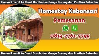 Gambar cover Hotel Dekat Borobudur | Hotel di Magelang Dekat borobudur | Homestay Kebonsari 081327617795