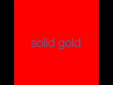 Zoot Woman - Solid Gold (Audio)