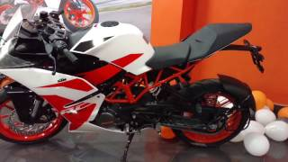 B2R : New 2017 KTM RC 200 Showroom Visit first Time