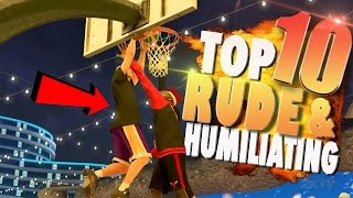 Video NBA 2K17 TOP 10 Most RUDE & HUMILIATING Park Plays Of The Week download MP3, 3GP, MP4, WEBM, AVI, FLV September 2017