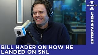 Bill Hader on how he went from assistant editor on Iron Chef performer on Saturday Night Live