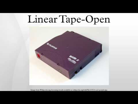 Linear Tape-Open