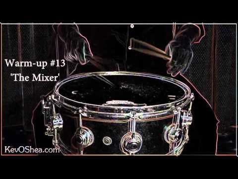 ★ Drum Warm-up #13 -