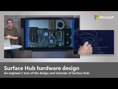 An engineer's tour of the hardware and design of Microsoft Surface Hub
