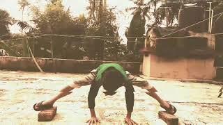 Abid kung fu boy practice