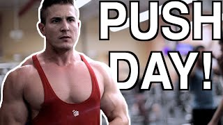 THE PUMP WAS UNREAL!!! | Chest, Shoulders & Triceps Workout (PUSH DAY)