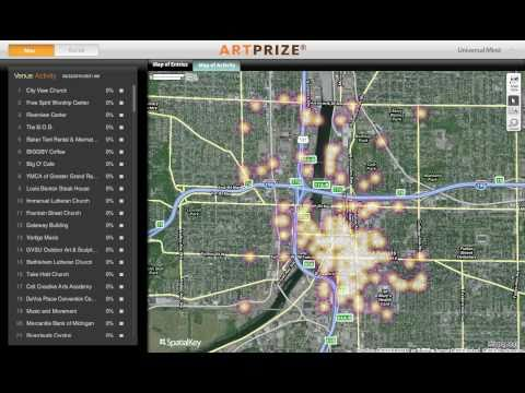 ArtPrize Social Mapping Application