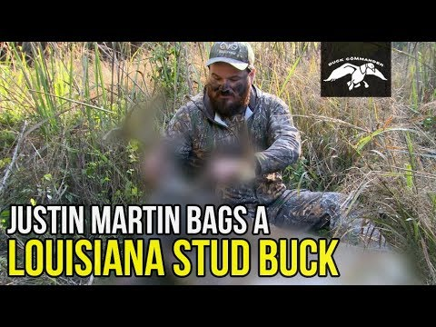 Justin Martin bags a Louisiana Stud Whitetail Buck  FULL EPISODE