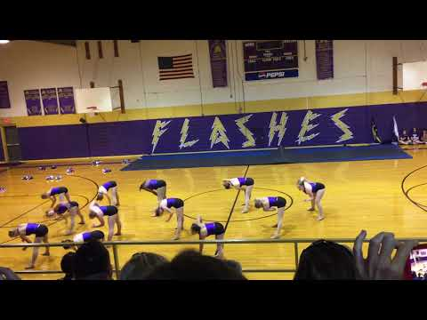2017-2018 Flashettes - Alien / Leake Academy