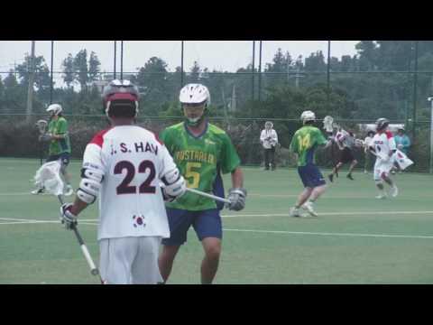 ASPAC Lacrosse 2017. Australia versus Korea.