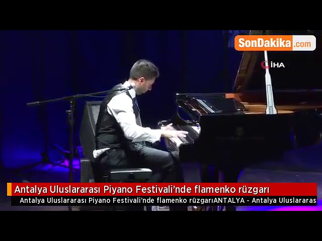 Diego Valdivia 20 Piano Antalya Festival Turquía