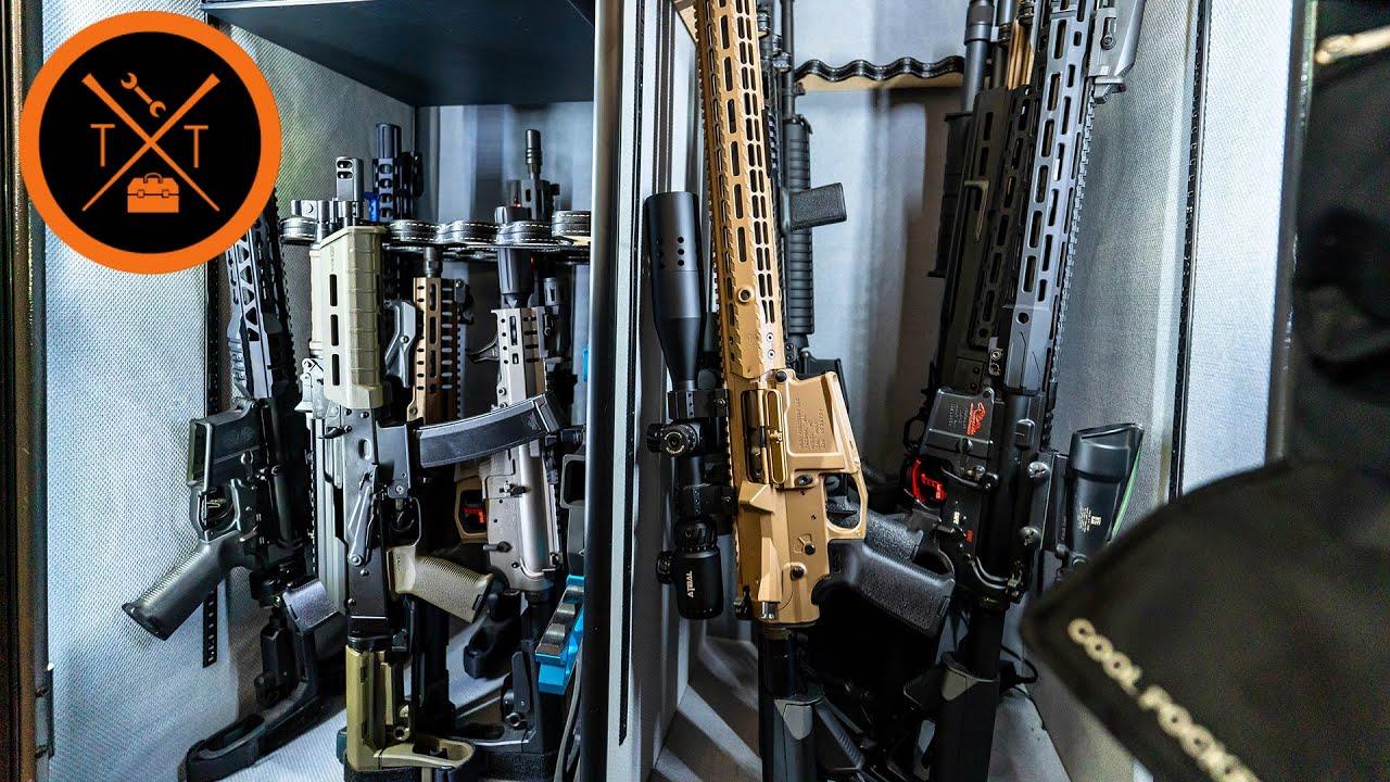 What's Inside my Gun Safe? Gun Safe Tour 2020...