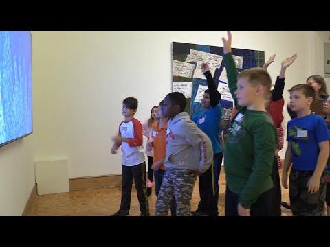 Broken Ground School Currier Museum Trip