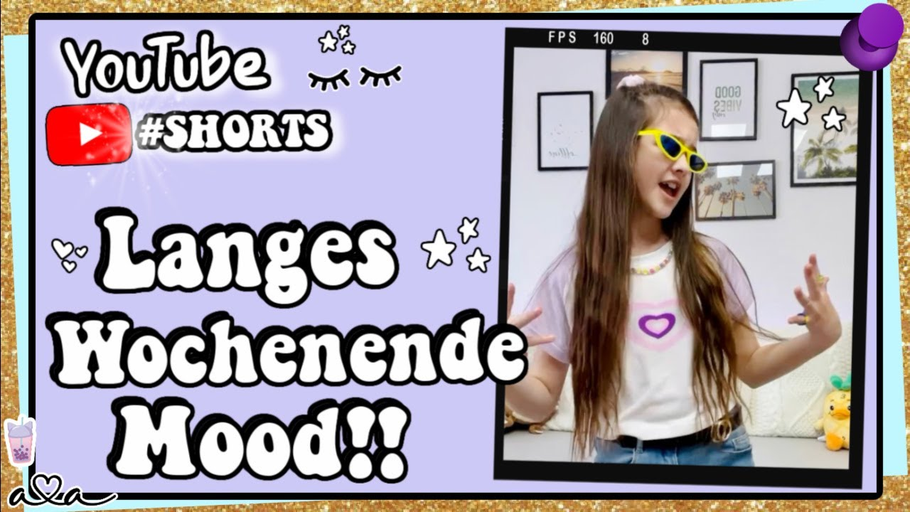 LANGES WOCHENENDE MOOD!! 💜 Alles Ava #shorts