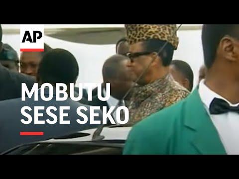 Congo: Zairian President Mobutu Sese Seko Visit Ends - 1997