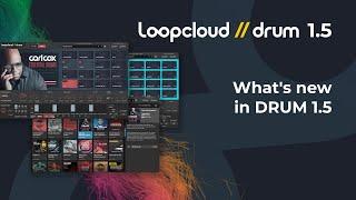 What's New Key Features - Loopcloud DRUM 15